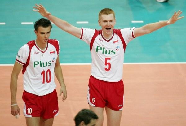Polscy siatkarze wreszcie pokonali Serbię i Czarnogórę. Fot. Łukasz Grochala /Agencja Przegląd Sportowy
