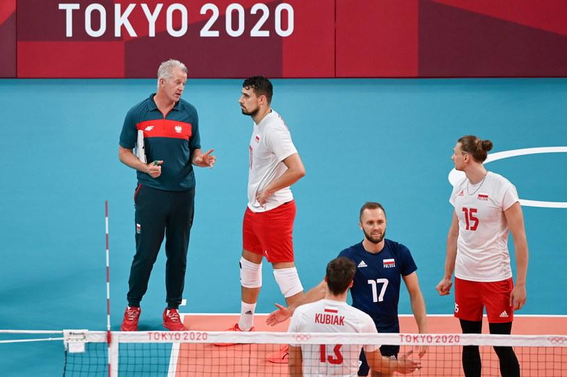 Polscy siatkarze ze spokojem podchodzą do swojej formy na początku turnieju w Tokio / PAP/Leszek Szymański /PAP