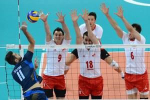 Polscy siatkarze zgodnie z obietnicami dawali z siebie wszystko w meczu z Włochami /Kirill Kudryavtsev /AFP