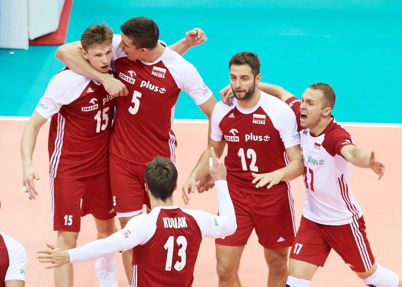 Polscy siatkarze zmierzą się w starciu o ćwierćfinał z Bułgarią lub Słowenią /Adam Warżawa /PAP