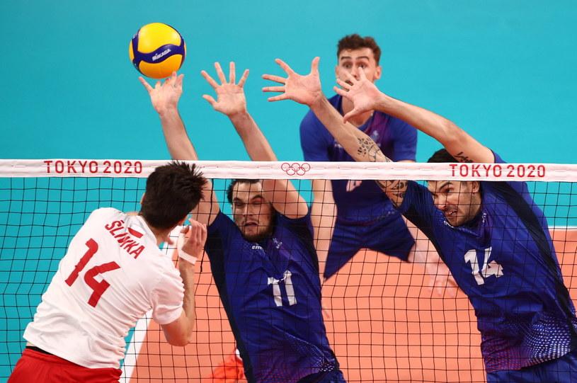 Polscy siatkarze znów odpadli w ćwierćfinale /PAP/EPA/WU HONG   /PAP/EPA