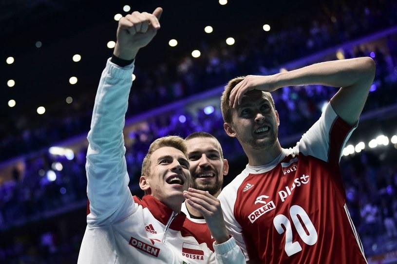 Polscy siatkarze /AFP