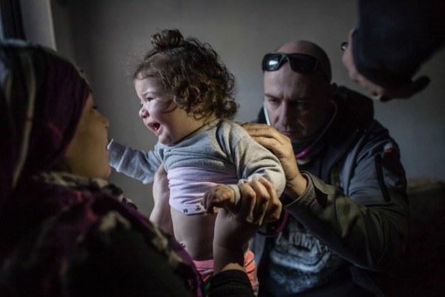 Polscy specjaliści z PCPM pomagali w Libanie, fot: A. Rostkowski /