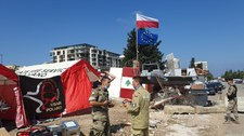 """Polscy strażacy w Bejrucie dostali strefę działań. """"Tereny gruzowiskowe"""""""