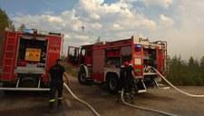 Polscy strażacy w Szwecji: Dostaliśmy prośbę o przekierowanie. Jeszcze dużo pracy przed nami