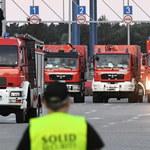 Polscy strażacy wrócili ze Szwecji. Premier: Jesteśmy niebywale dumni