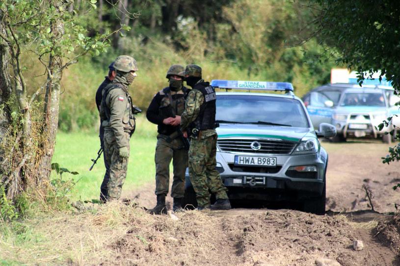 Polscy strażnicy graniczny /TOMASZ MATUSZKIEWICZ / SUPER EXP/AGENCJA SE/East News /East News
