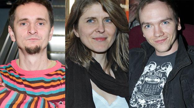 Polscy twórcy nie boją się historii: Bartek Konopka (L), Anna Jadowska (C), Jan Komasa (P) /MWMedia