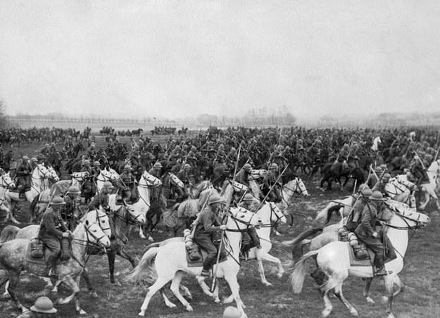 Polscy ułani we wrześniu 1939 roku /AFP