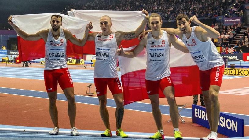 Polscy złoci medaliści MŚ /Newspix