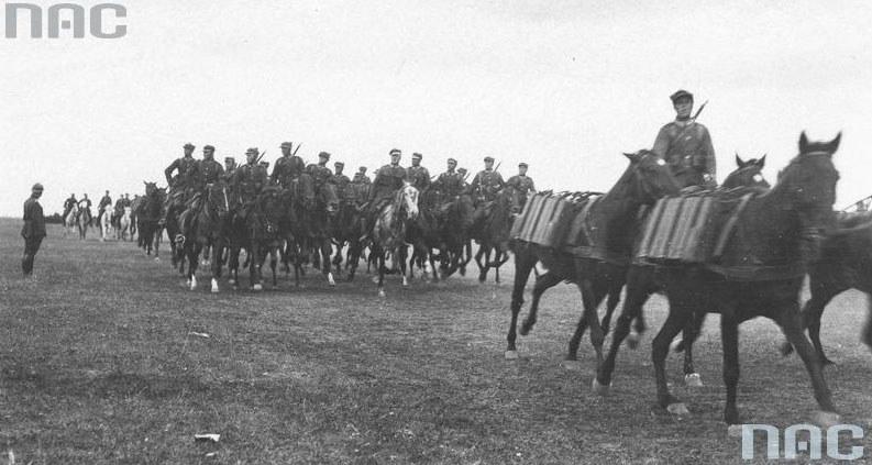 Polscy żołnierze odparli Litwinów (zdjęcie ilustracyjne) /Z archiwum Narodowego Archiwum Cyfrowego
