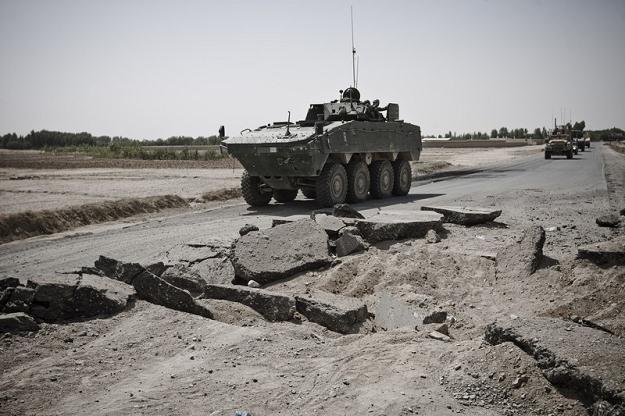 Polscy żołnierze w Afganistanie / fot. M. Rigamonti /Reporter