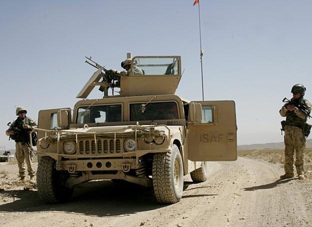 Polscy żołnierze w Afganistanie, rok 2007 /East News