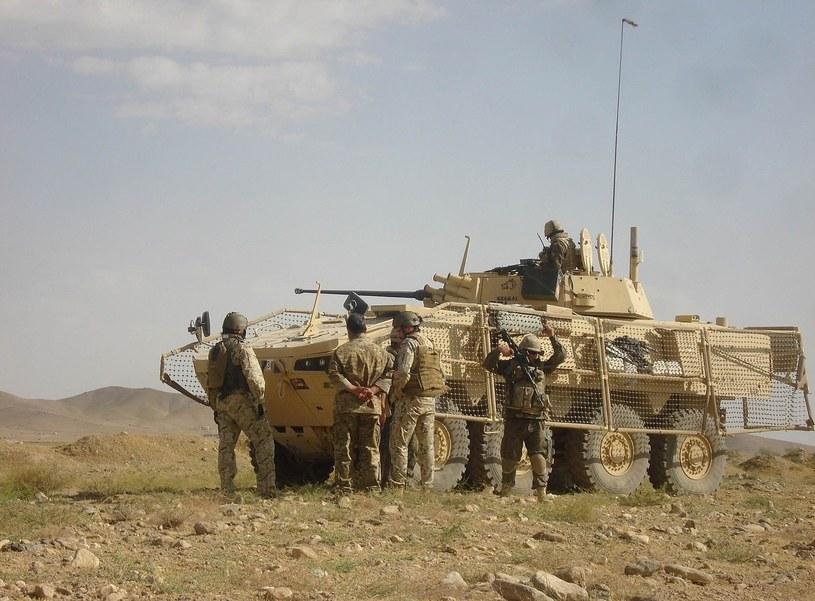 Polscy żołnierze w Afganistanie /AFP