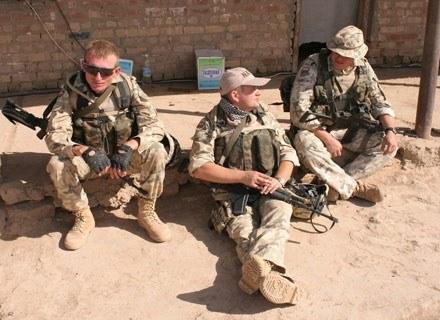 Polscy żołnierze w Iraku/fot. Marcin Ogdowski /