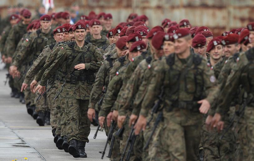 Polscy żołnierze, zdjęcie ilustracyjne /Getty Images