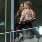Polska-Albania. Anna Lewandowska z córką Klarą kibicowały Robertowi i reprezentacji Polski