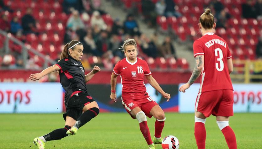 Polska - Albania. Zwycięstwo piłkarek w eliminacjach mistrzostw świata
