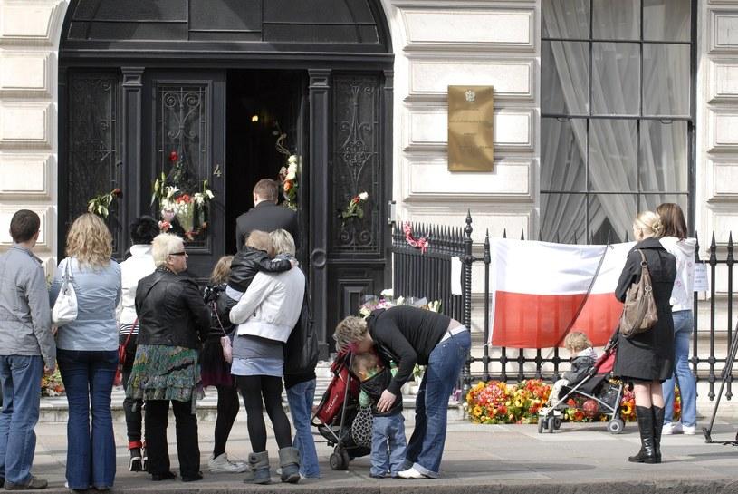 Polska ambasada w Londynie /East News