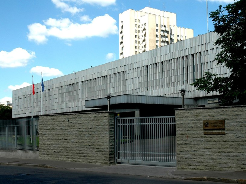 Polska ambasada w Moskwie /Wojtek Laski /East News