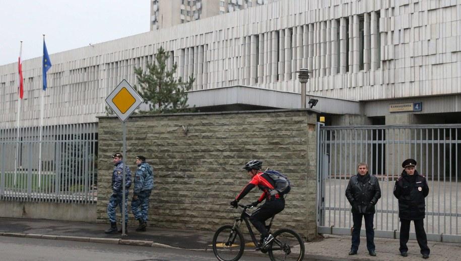 Polska ambasada w Moskwie /Mikhail Pochuyev    /PAP/EPA