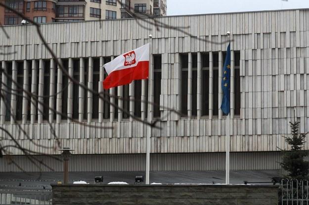 Polska ambasada w Moskwie /Sergei Fadeichev /PAP/EPA