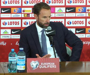 Polska-Anglia 1-1. Gareth Southgate: Wiedzieliśmy, że Polska to dobra drużyna. Wideo