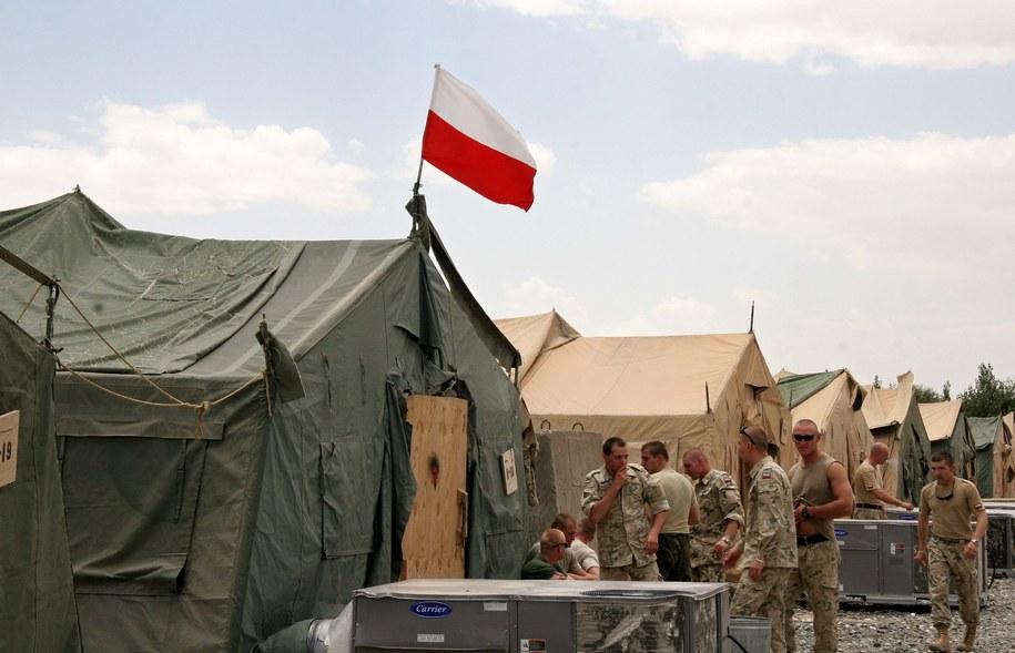 Polska baza Warrior w Afganistanie /Jerzy Undro /PAP