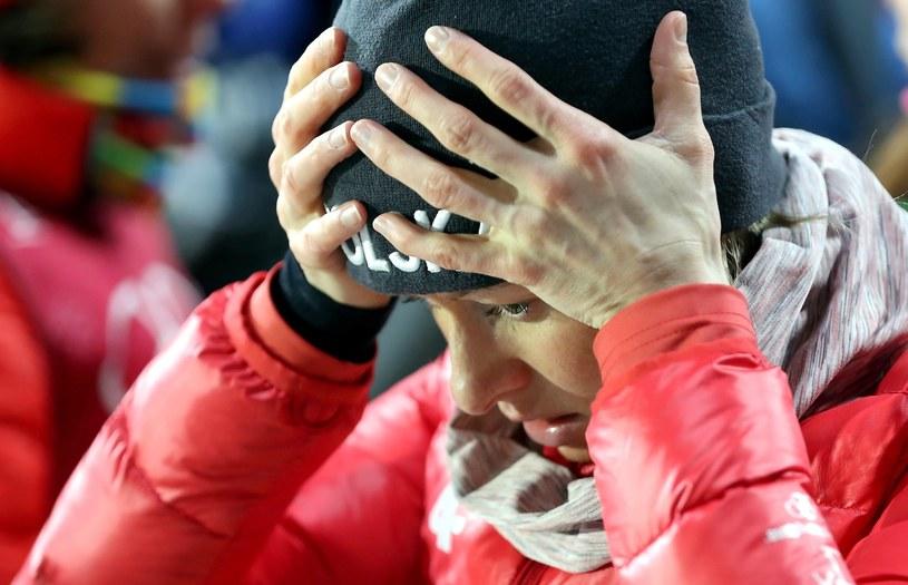 Polska biathlonistka Weronika Nowakowska po biegu sztafetowym / Grzegorz Momot    /Eurosport