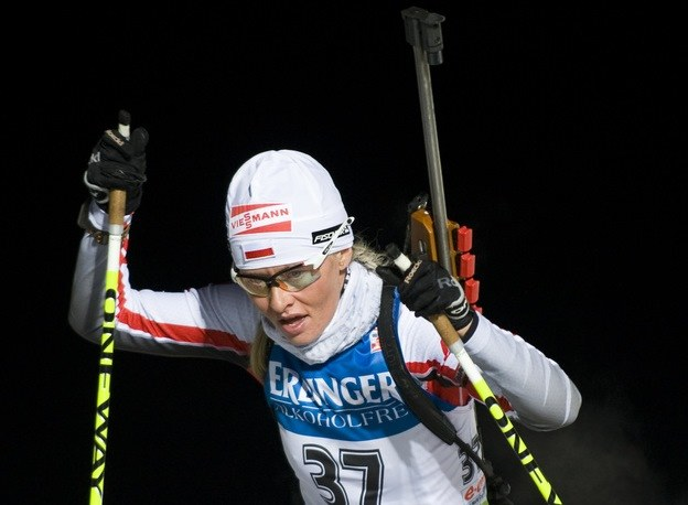 Polska biathlonistka Weronika Nowakowska-Ziemniak /AFP