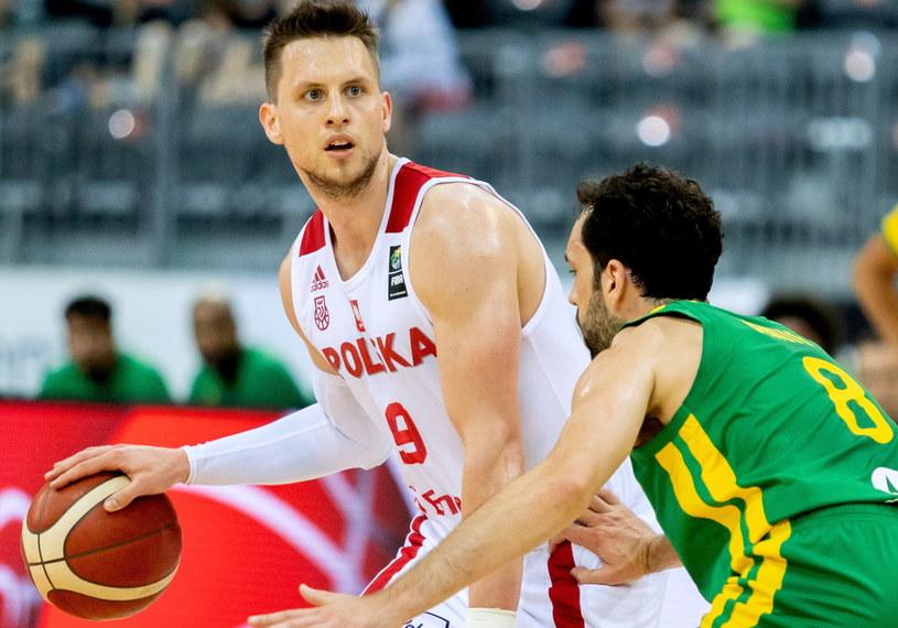 Polska - Brazylia /Andrzej Grygiel /PAP