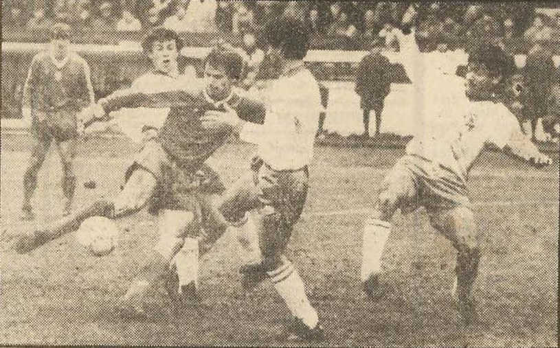 Polska - Cypr w Gdańsku 1987 r. / Lechia Historia /