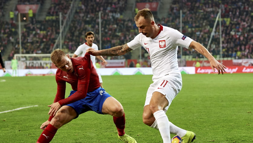 Polska - Czechy 0-1. Grosicki: Jakaś klątwa wisi nad tą drużyną