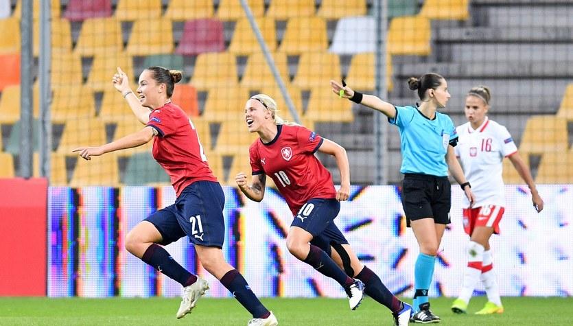 Polska - Czechy 0-2 w eliminacjach mistrzostw Europy kobiet 2021