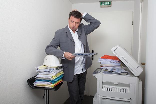 Polska firma wydaje średnio na wydruki 8 proc. swoich obrotów /©123RF/PICSEL