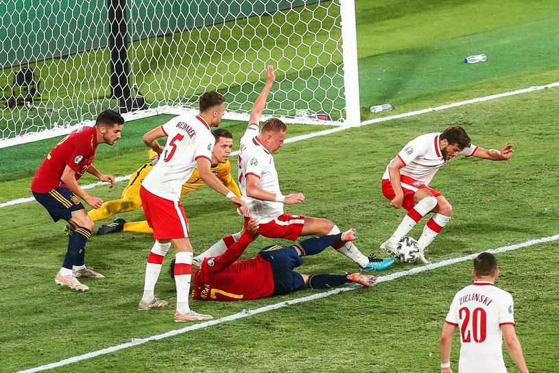 Polska gra z Hiszpanią na Euro 2020 /Tomasz Jastrzębowski /Newspix