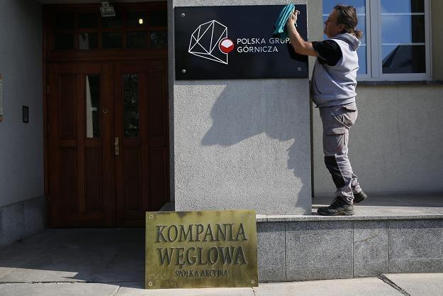 Polska Gtupa Górnicza to dawna Kompania Węglowa. Fot. Dawid Chalimoniuk /AGENCJA GAZETA