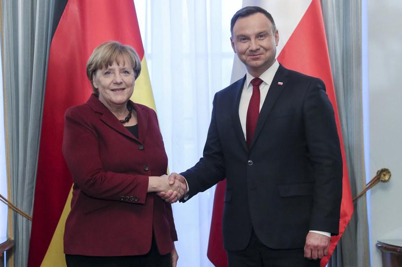 Polska i Niemcy opowiadają się za trwałością więzi transatlantyckiej i wspólnymi zobowiązaniami dot. bezpieczeństwa . /Andrzej Iwańczuk /East News
