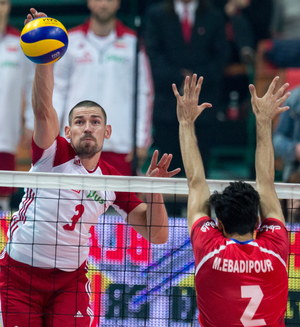 Polska - Iran 3:0 w towarzyskim meczu pożegnalnym Krzysztofa Ignaczaka