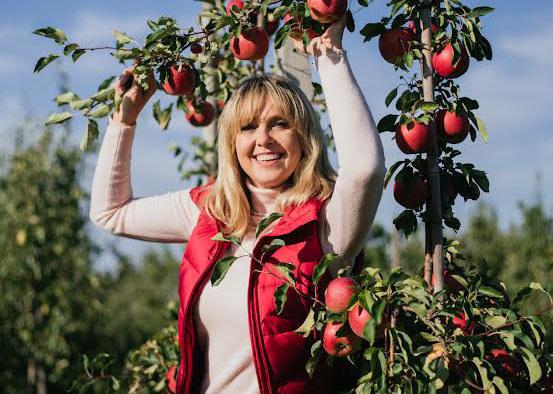 Polska jest jednym z największych producentów jabłek - mówi Ewa Wachowicz /archiwum prywatne