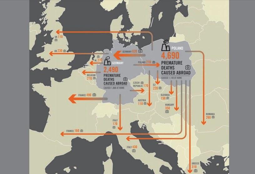 Polska jest największym trucicielem w Europie /materiały prasowe