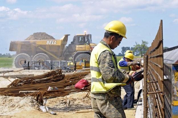 Polska jest wielkim placem budowy... /AFP