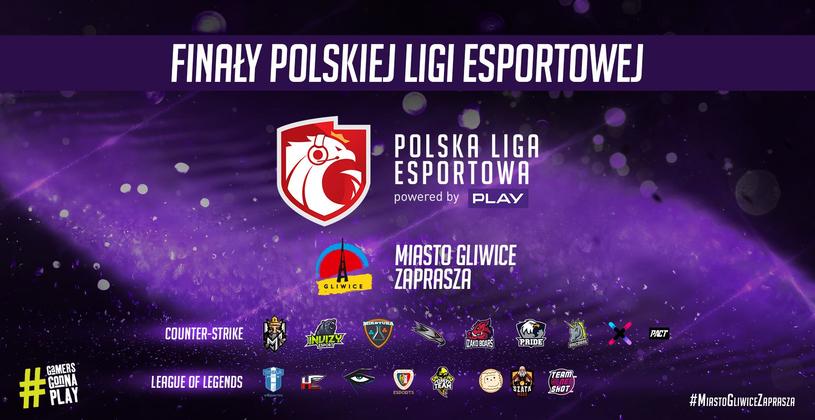 Polska Liga Esportowa /materiały prasowe