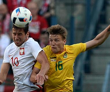 Polska - Litwa 0-0 w meczu towarzyskim. Krychowiak: Jeszcze trochę mi brakuje