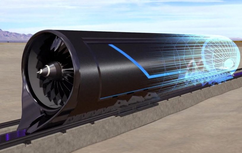 Polska ma szansę wdrożyć technologię Hyperloop jako jeden z pierwszych krajów /materiały prasowe