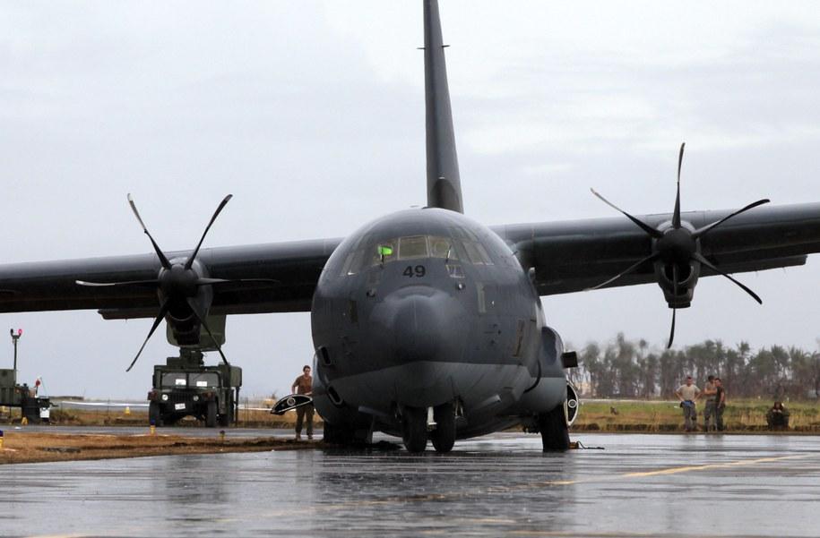 Polska ma wysłać do CAR samolot Hercules 130 C /RITCHIE B. TONGO /PAP/EPA
