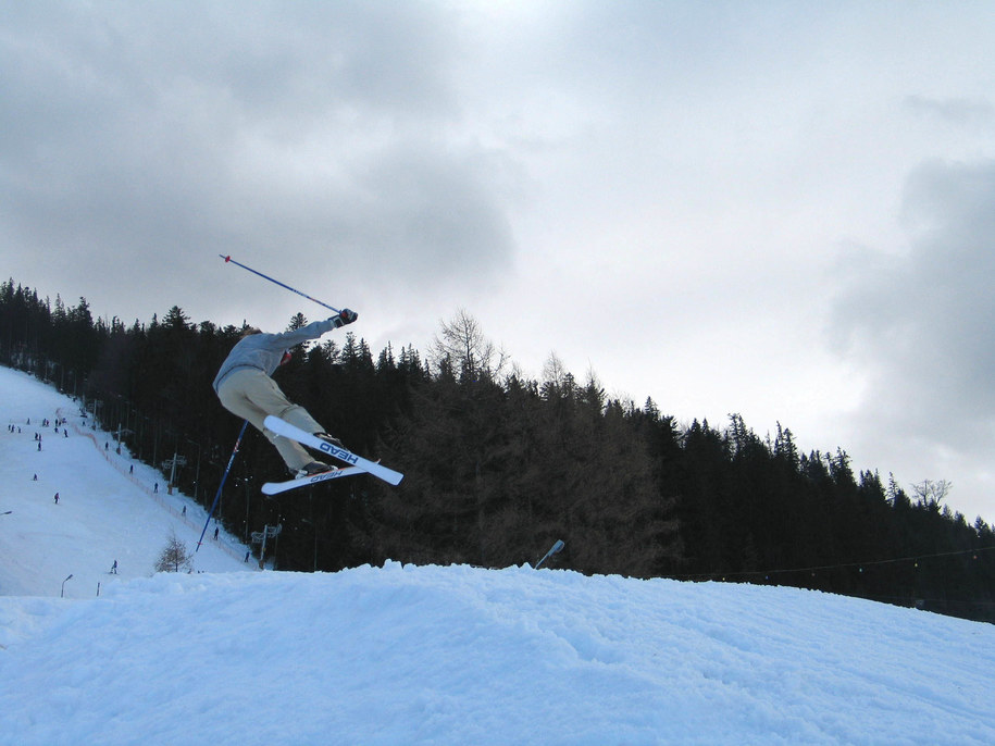 Polska narciarka mocno ucierpiała na francuskim stoku. /Maciej Pałahicki /RMF FM