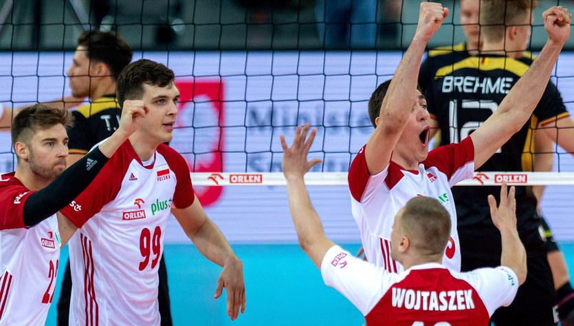 Polska - Niemcy 3:0 w meczu towarzyskim siatkarzy