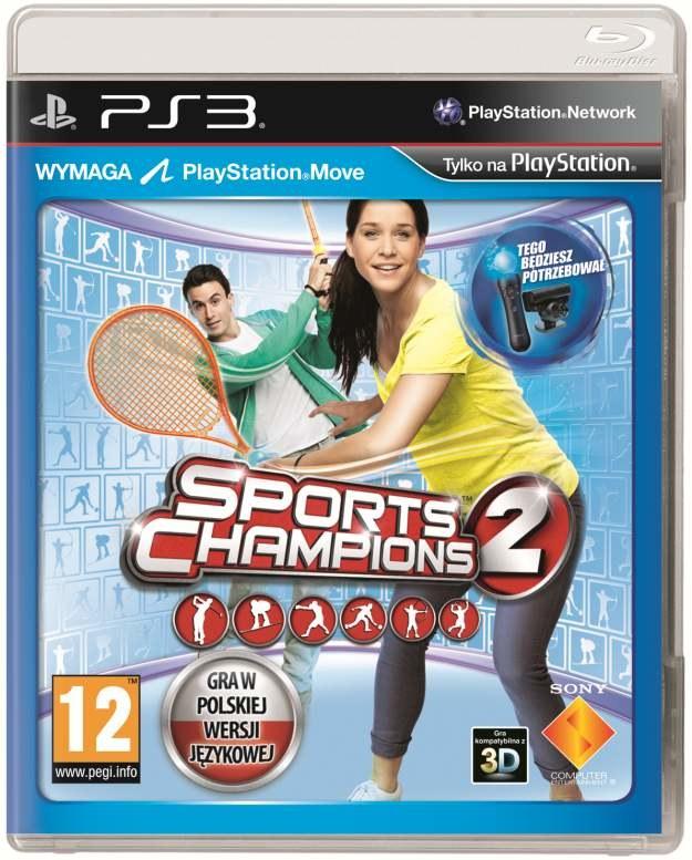 Polska okładka gry Sports Champions 2 /
