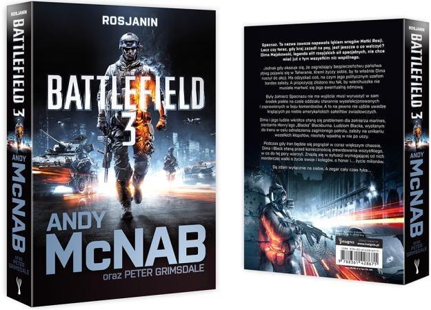 Polska okładka powieści Battlefield 3: Rosjanin /Informacja prasowa